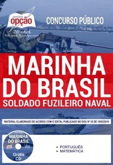 Apostila Concurso Marinha do Brasil 2019 PDF e Impressa Soldado Fuzileiro Naval