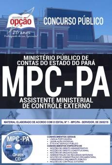 Apostila Concurso MPC PA 2019 PDF e Impressa Assistente Ministerial de Controle Externo
