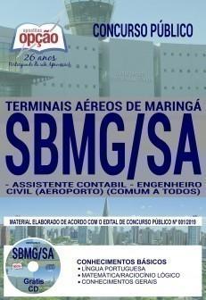 Apostila Concurso SBMG SA 2019 PDF e Impressa Assistente Contábil e Engenheiro Civil
