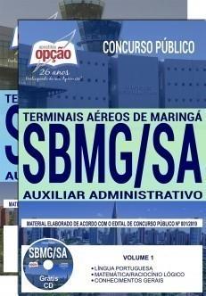 Apostila Concurso SBMG SA 2019 PDF e Impressa Auxiliar Administrativo