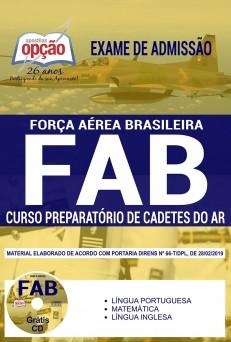 Apostila FAB 2019 Curso de Cadetes do Ar PDF e Impressa
