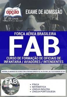 Apostila FAB 2019 Curso de Formação de Oficiais PDF e Impressa