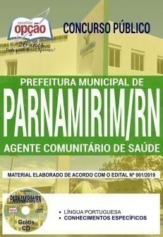 Apostila Prefeitura de Parnamirim 2019 Agente Comunitário de Saúde PDF e Impressa