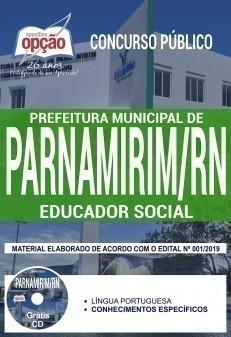 Apostila Prefeitura de Parnamirim 2019 Educador Social PDF e Impressa