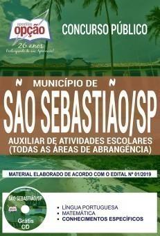 Apostila Prefeitura de São Sebastião 2019 PDF e Impressa