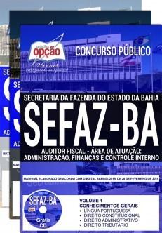 Apostila SEFAZ BA 2019 Auditor Fiscal PDF e Impressa