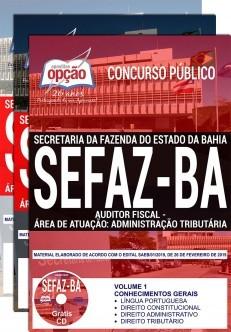 Apostila SEFAZ BA 2019 Auditor Fiscal Administração Tributária PDF e Impressa