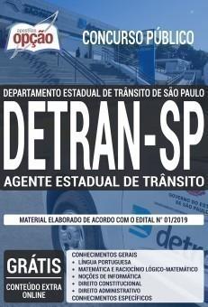 Apostila DETRAN SP 2019 PDF e Impressa Agente Estadual de Trânsito