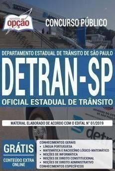 Apostila DETRAN SP 2019 PDF e Impressa Oficial Estadual de Trânsito