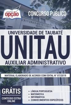 Apostila UNITAU 2019 PDF e Impressa Auxiliar Administrativo