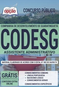 Apostila CODESG 2019 PDF e Impressa