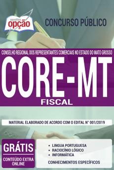 Apostila CORE MT 2019 Fiscal PDF e Impressa