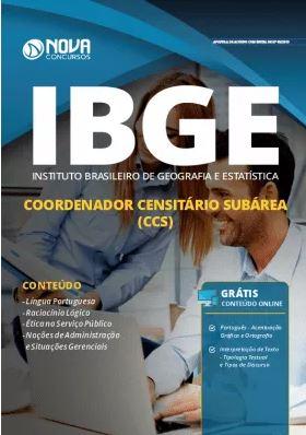 Apostila Concurso IBGE 2019 Coordenador Censitário Subárea