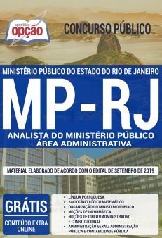 Apostila Concurso MP RJ 2019 Analista do Ministério Público Área Administrativa PDF e Impressa