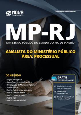 Apostila Concurso MP RJ 2019 Analista do Ministério Público Área Processual Grátis Cursos Online