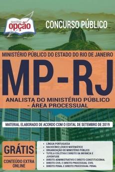 Apostila Concurso MP RJ 2019 Analista do Ministério Público Área Processual PDF e Impressa