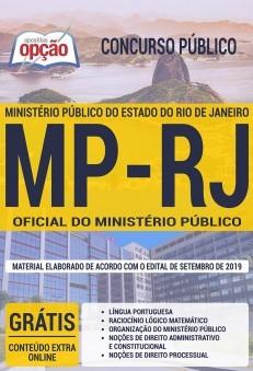Apostila Concurso MP RJ 2019 Oficial do Ministério Público PDF e Impressa