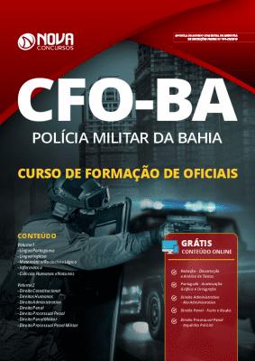 Apostila Concurso PM BA 2019 Curso de Formação de Oficiais