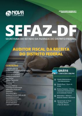 Apostila Concurso SEFAZ DF 2019 Auditor Fiscal da Receita Federal PDF e Impressa
