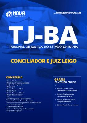 Apostila TJ BA 2019 PDF e Impressa Conciliador e Juiz Leigo