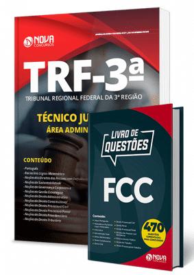 Apostila Concurso TRF 3 2019 Técnico Judiciário Área Administrativa Combo