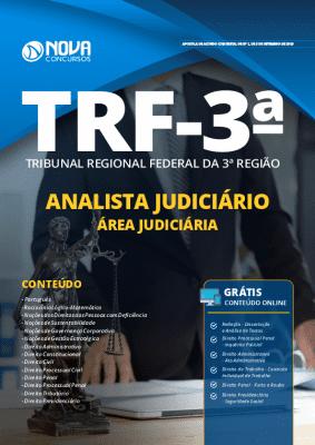 Apostila Concurso TRF3 2019 Analista Judiciário Área Judiciária Grátis Cursos Online