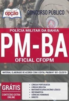 Apostila PM BA 2019 Curso de Formação de Oficiais PDF e Impressa
