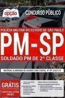 Apostila PM SP 2019 Soldado PDF e Impressa