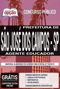 Apostila Prefeitura de São José dos Campos 2019 PDF e Impressa