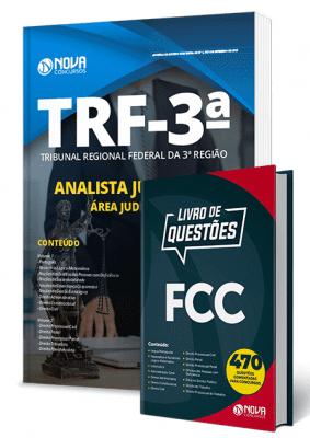 Apostila TRF3 2019 Analista Judiciário Área Judiciária Combo