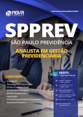 Apostila SPPREV Analista 2019 Impressa e PDF Grátis Cursos Online