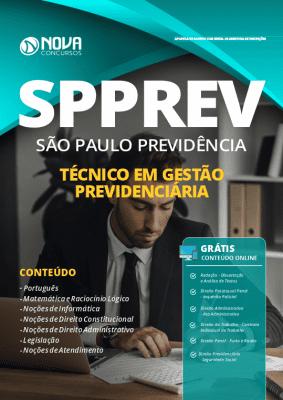 Apostila Concurso SPPREV 2019 Técnico em Gestão Previdenciária Grátis Cursos Online