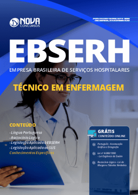 Apostila Técnico em Enfermagem EBSERH 2019 Grátis Cursos Online