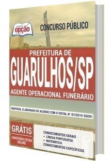 Apostila Concurso Prefeitura de Guarulhos 2020 PDF e Impressa