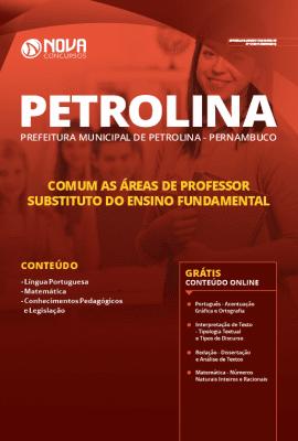 Apostila Prefeitura de Petrolina Pernambuco 2019 Grátis Cursos Online