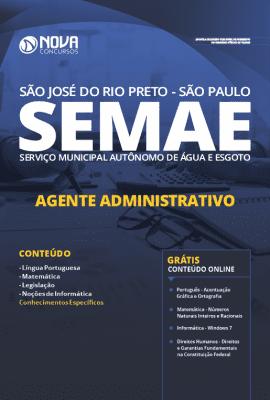 Apostila Concurso SEMAE Rio Preto 2020 Grátis Cursos Online