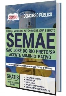 Apostila Concurso SEMAE Rio Preto 2020 PDF e Impressa