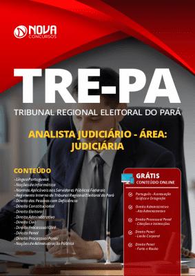 Apostila Concurso TRE PA 2020 Analista Judiciário Área Judiciária Grátis Cursos Online