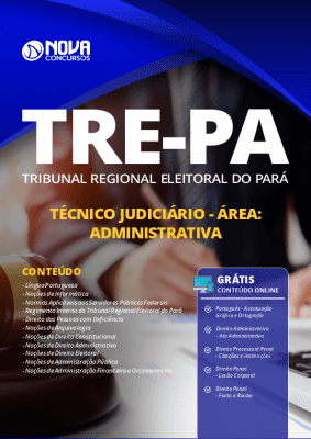 Apostila TRE PA 2020 Técnico Judiciário Área Administrativa Grátis Cursos Online