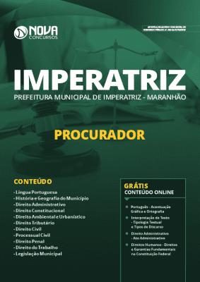 Apostila Prefeitura de Imperatriz Maranhão 2019 Grátis Cursos Online