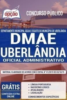 Apostila Concurso DMAE Uberlândia 2020 PDF e Impressa