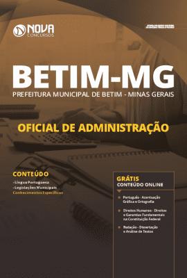 Apostila Prefeitura de Betim 2019 Grátis Cursos Online