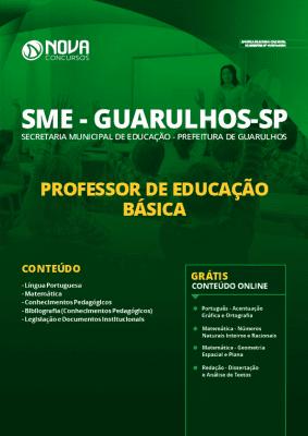 Apostila Concurso Prefeitura de Guarulhos 2020 Professor de Educação Básica Grátis Cursos Online