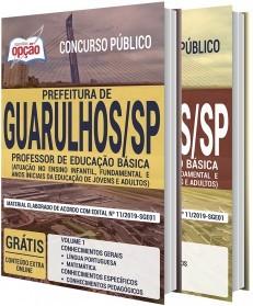 Apostila Concurso Prefeitura de Guarulhos 2020 Professor de Educação Básica PDF e Impressa