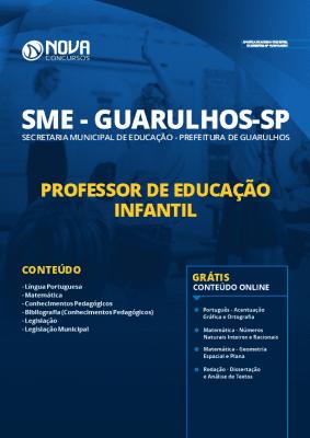 Apostila Concurso Prefeitura de Guarulhos 2020 Professor de Educação Infantil