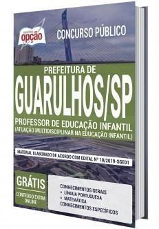 Apostila Concurso Prefeitura de Guarulhos 2020 Professor de Educação Infantil PDF e Impressa