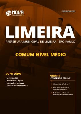 Apostila Concurso Prefeitura de Limeira 2020 Grátis Cursos Online
