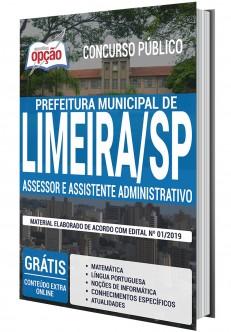 Apostila Concurso Prefeitura de Limeira 2020 PDF e Impressa