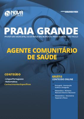 Apostila Concurso Prefeitura de Praia Grande 2020 Agente Comunitário de Saúde