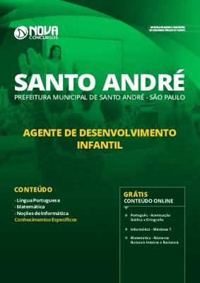 Apostila Concurso Prefeitura de Santo André 2020 Grátis Cursos Online